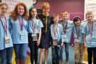 First Minister Nicola Sturgeon met with Children's Parliament participants, who are all of primary-school age