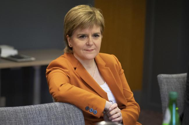 The Perfect Christmas Present.First Minister Gives Theresa May The Perfect Christmas