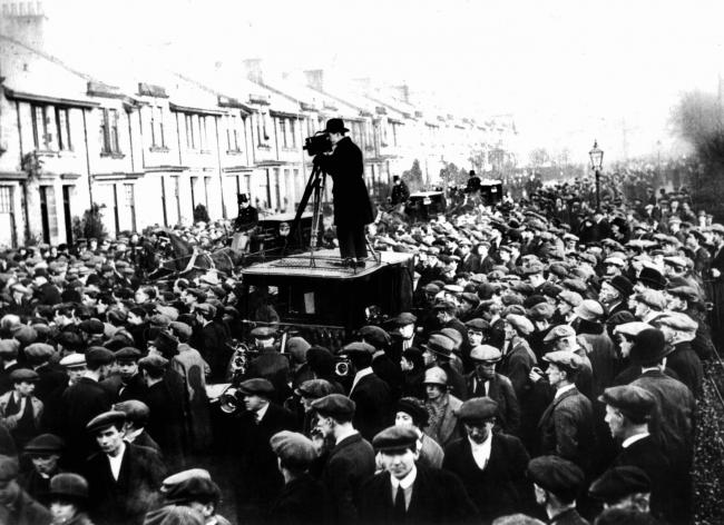 The funeral of John Maclean saw Glasgow turn out in its tens of thousands