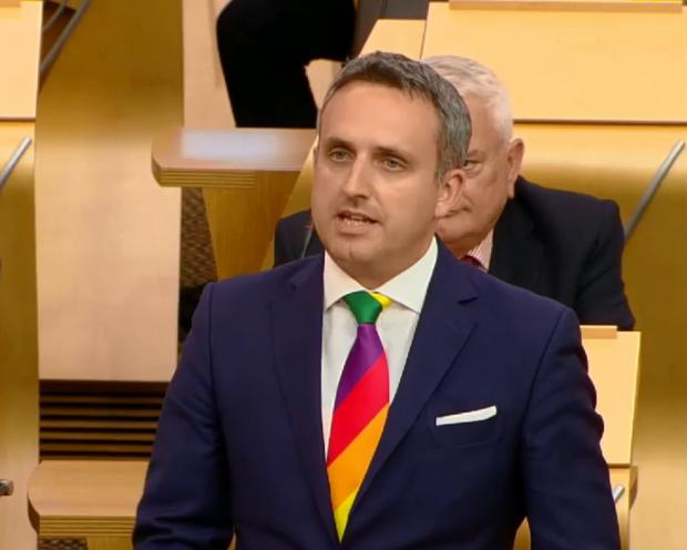 The National: Alex Cole-Hamilton said NHS Scotland was in a bad way