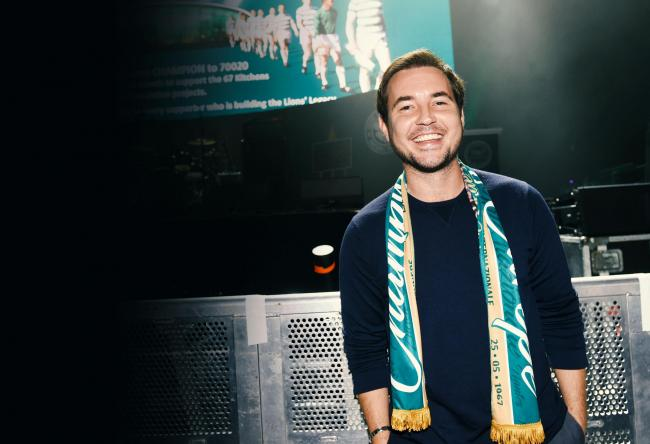 Martin Compston on the things that shaped his life
