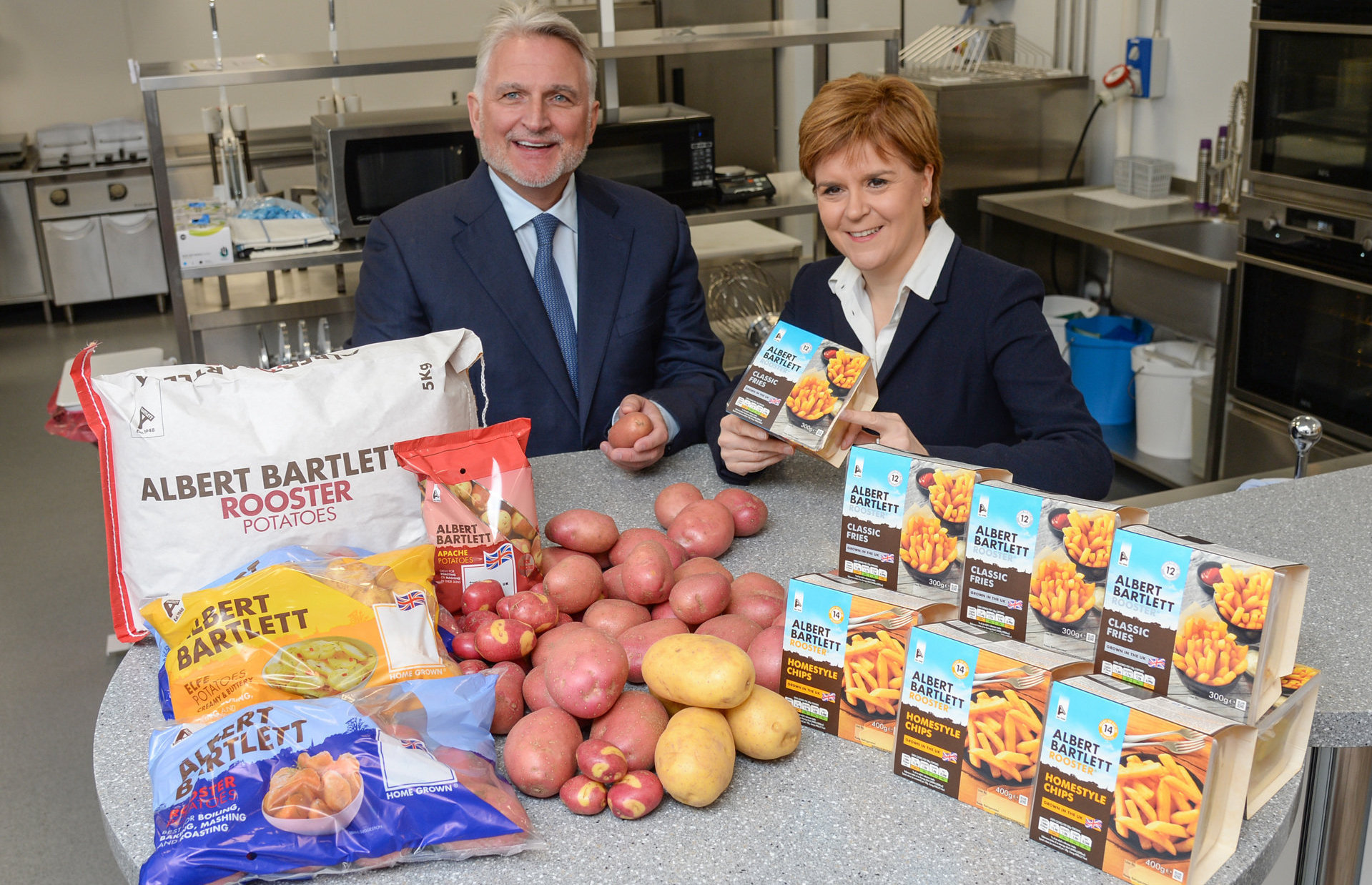Nicola Sturgeon opened the Scottish Government-backed facility