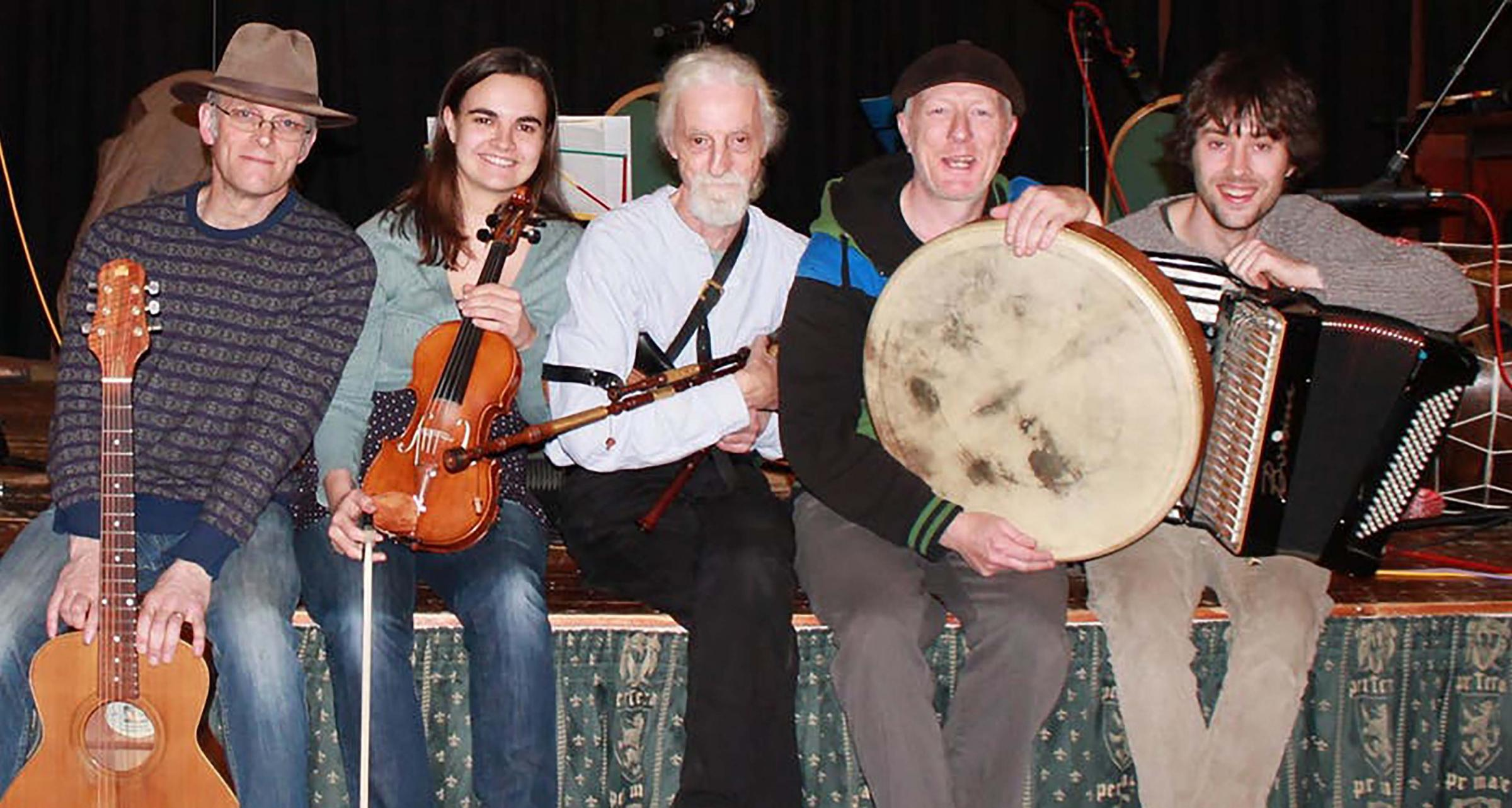 The Matt Seattle Ceilidh Band are joining in with the national day events