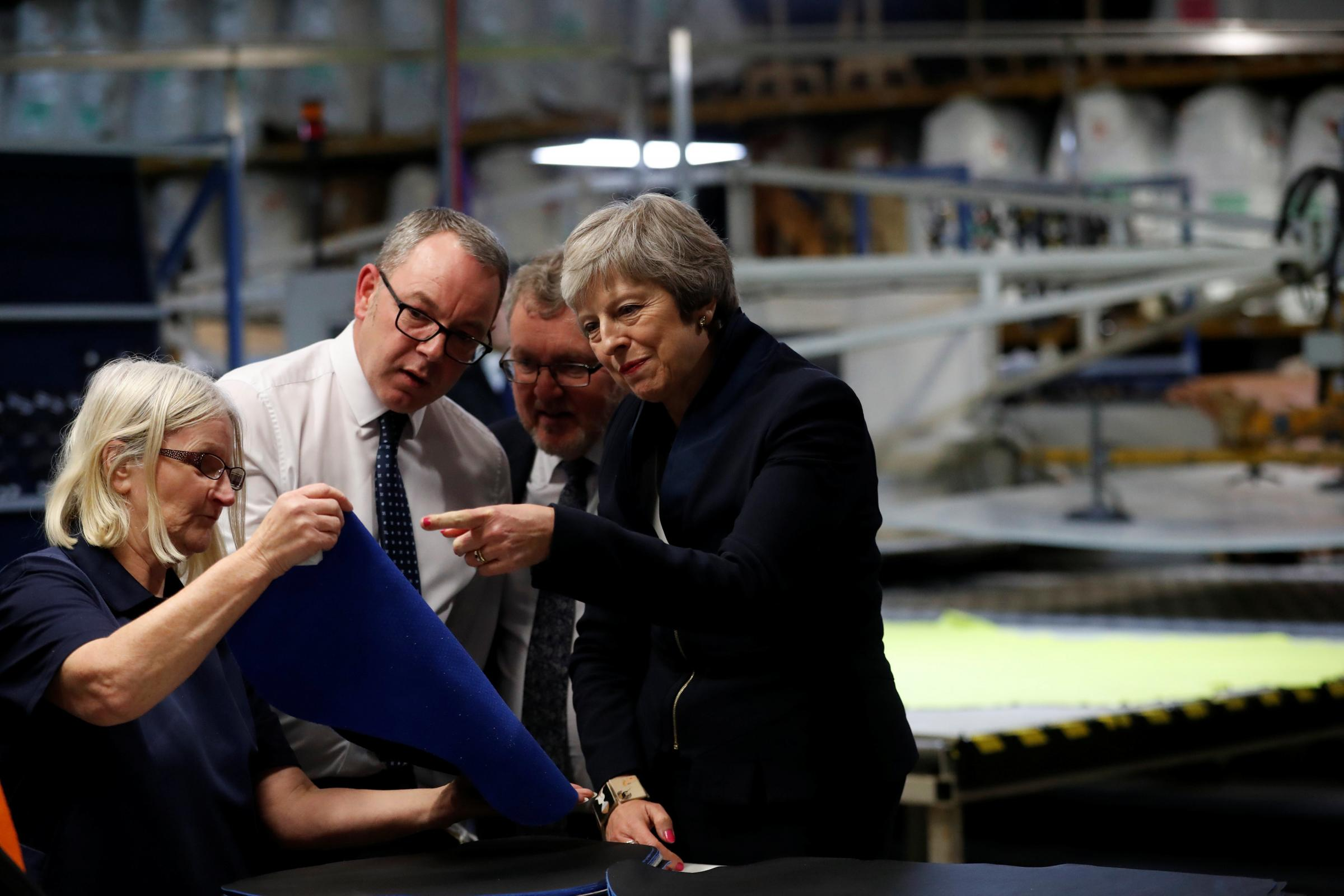 It is clear Theresa May, who shut The National our of her press conference in Bridge of Weir, is becoming increasingly panicked