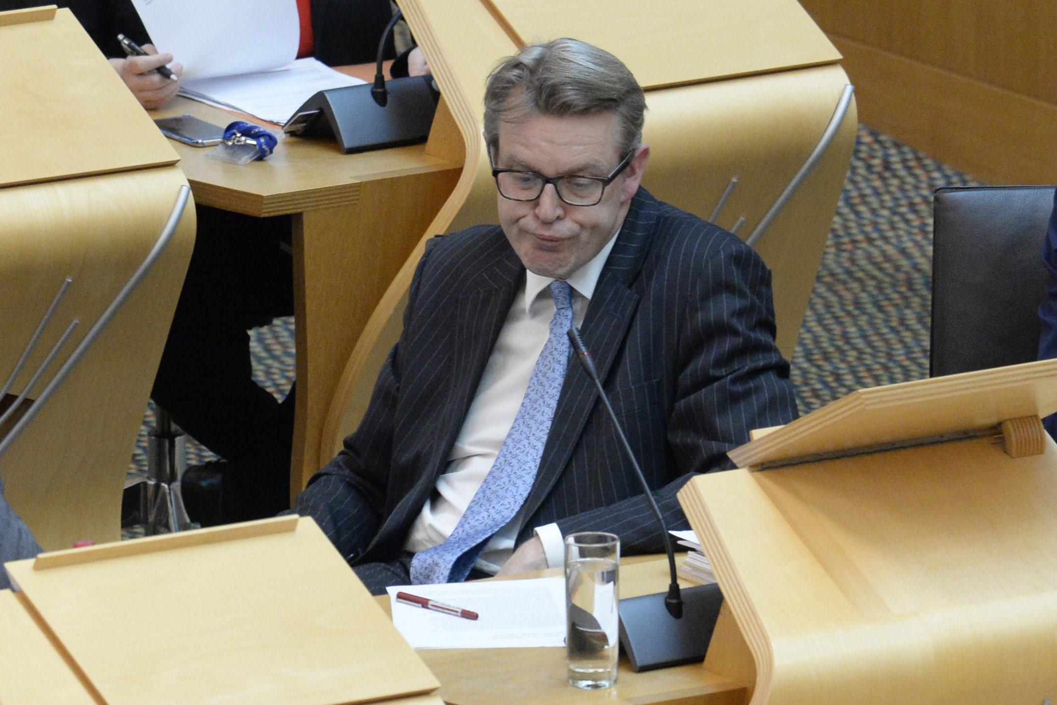 Scottish Tory Adam Tomkins has branded the Holyrood vote a 'game'