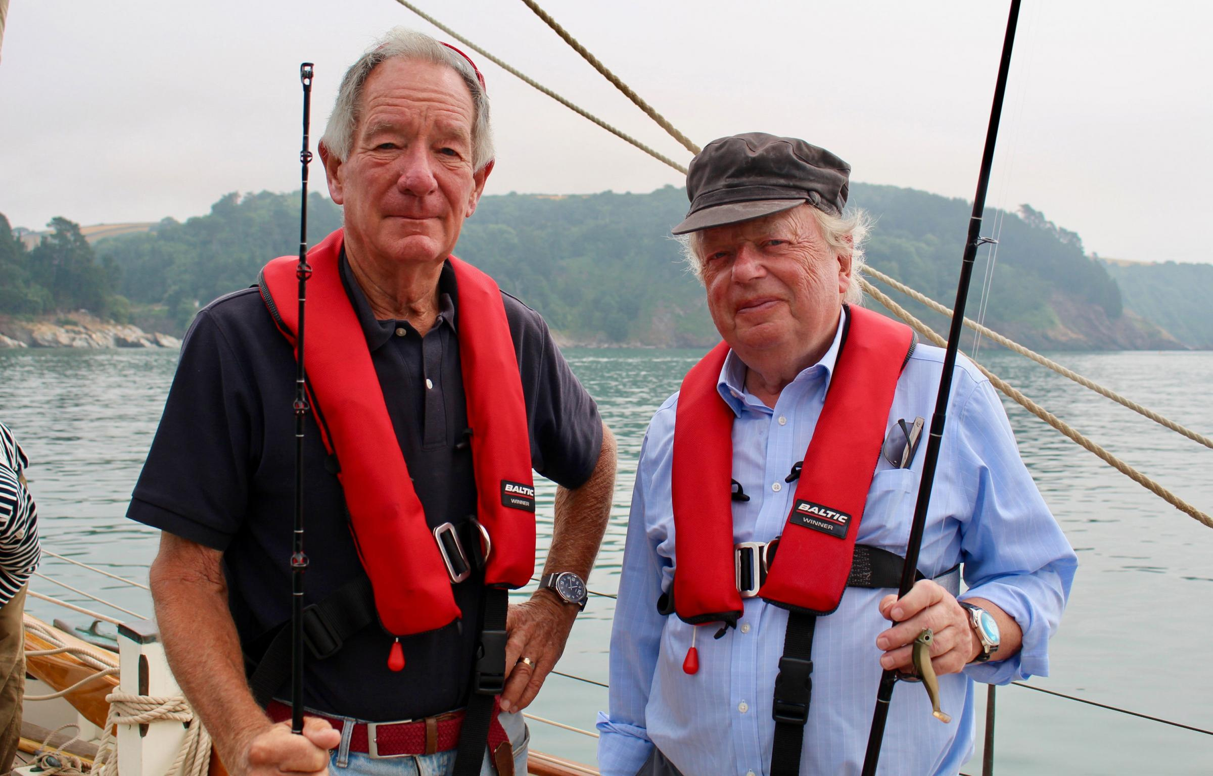 Michael Buerk and John Sergeant embark on the third leg of their voyage