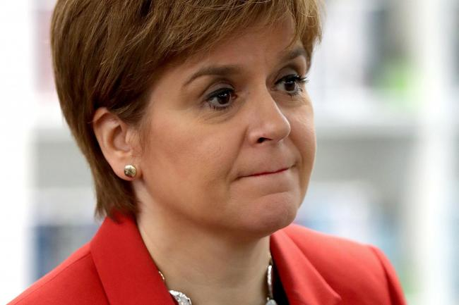 First Minister Nicola Sturgeon 'kept her cool'
