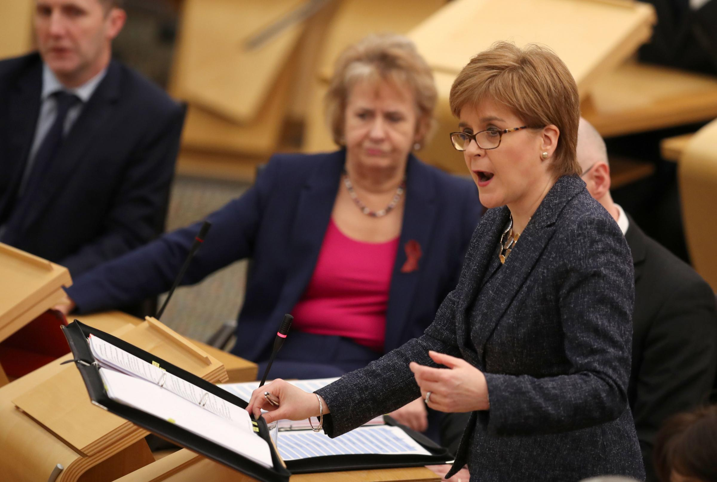 First Minister Nicola Sturgeon has slammed the Home Office decision