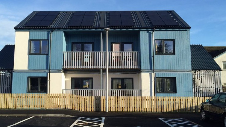 Carbon Dynamic's Alness social housing