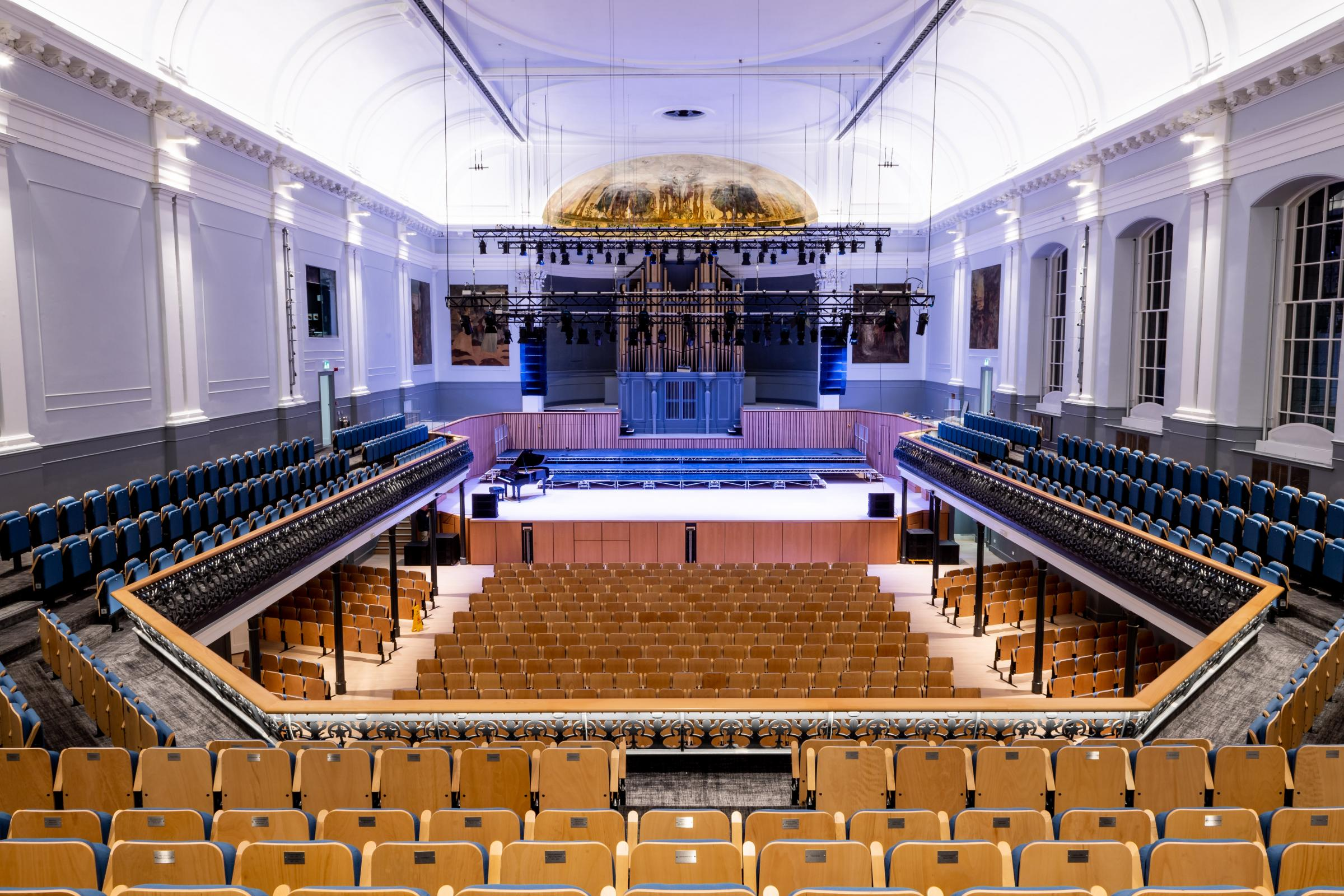The hall has gone through a £9 million restoration project