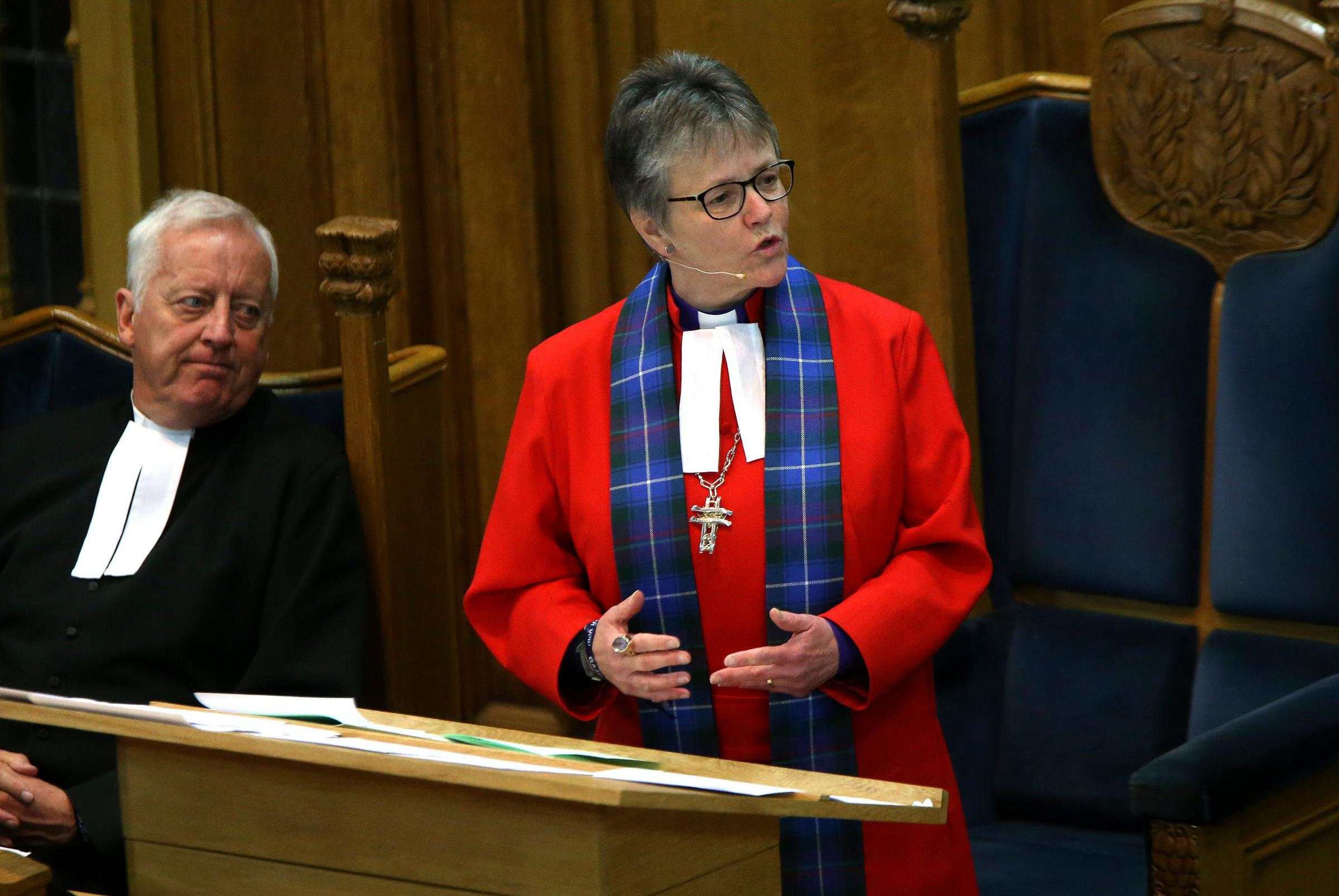 Susan Brown, Moderator of the General Assembly of the Church of Scotland