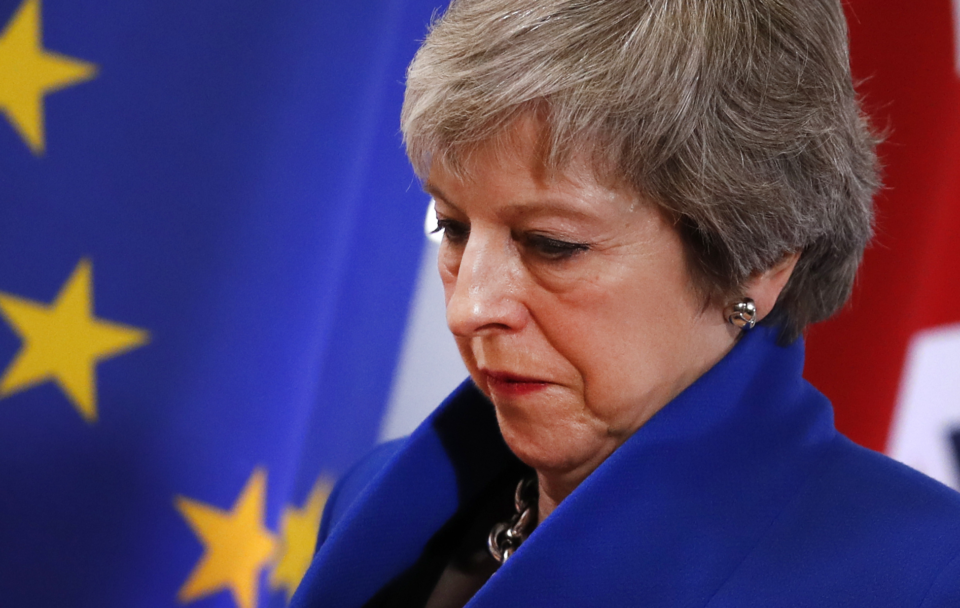 Reports over the weekend suggested Theresa May was going to Brussels to 'handbag' the EU into giving the UK a better deal