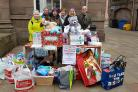 Yes Forfar and Blether-In organised a Christmas Collection for the Angus foobank