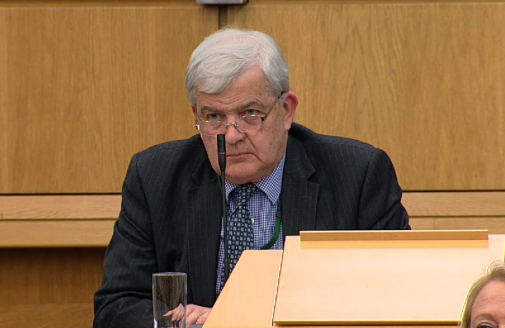 Tory MSP Maurice Corry's remarks didn't go down well