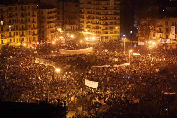 The National: Cairo in 2011 during the uprisings