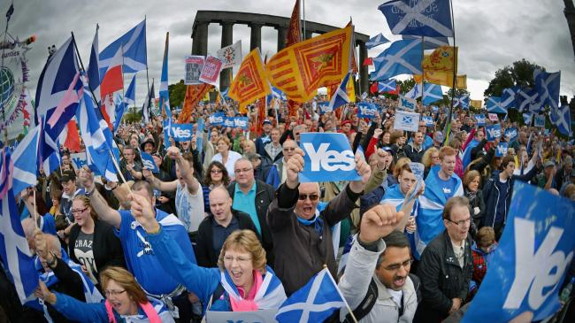 Yes groups across Scotland have ensured that momentum is building in the independence movement