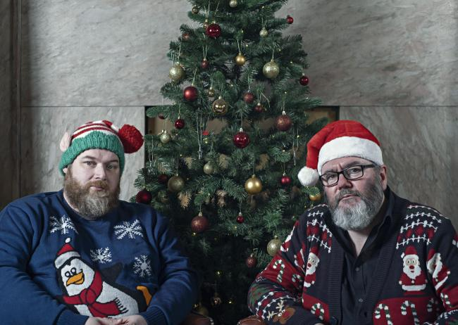 Aidan Moffat and RM Hubbert on capturing Christmas   The