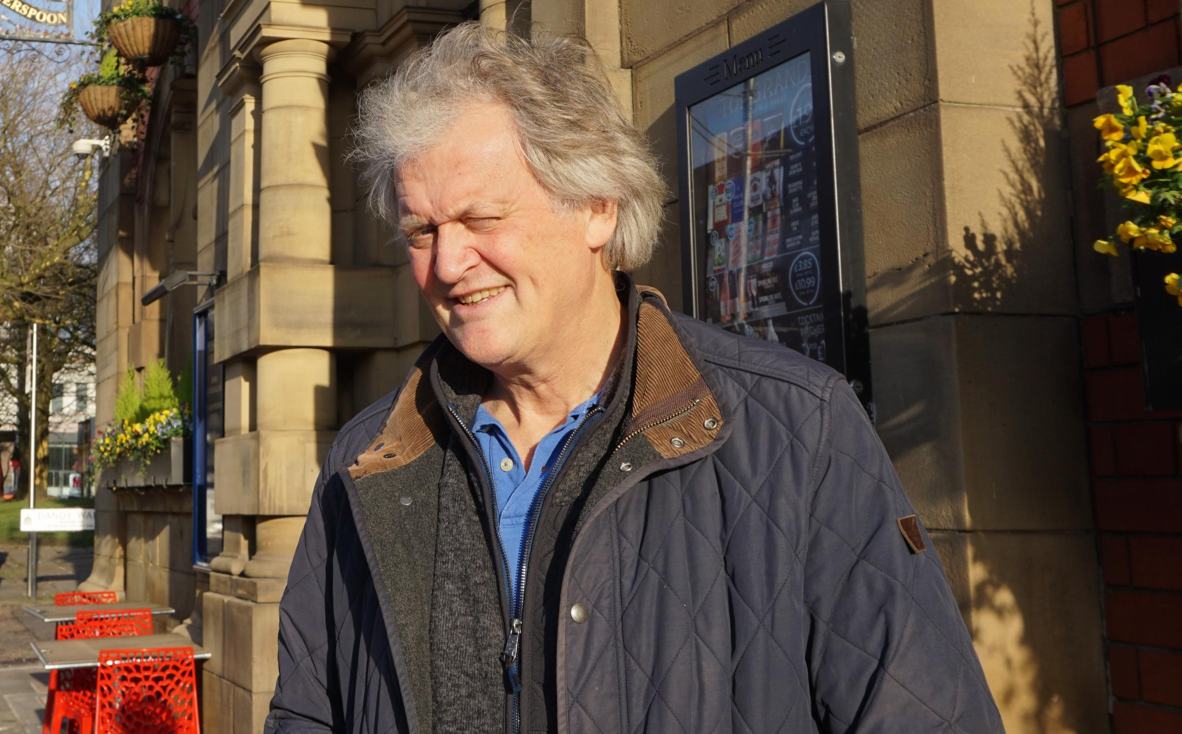 Tim Martin appeared on Politics Live to promote a no-deal outcome