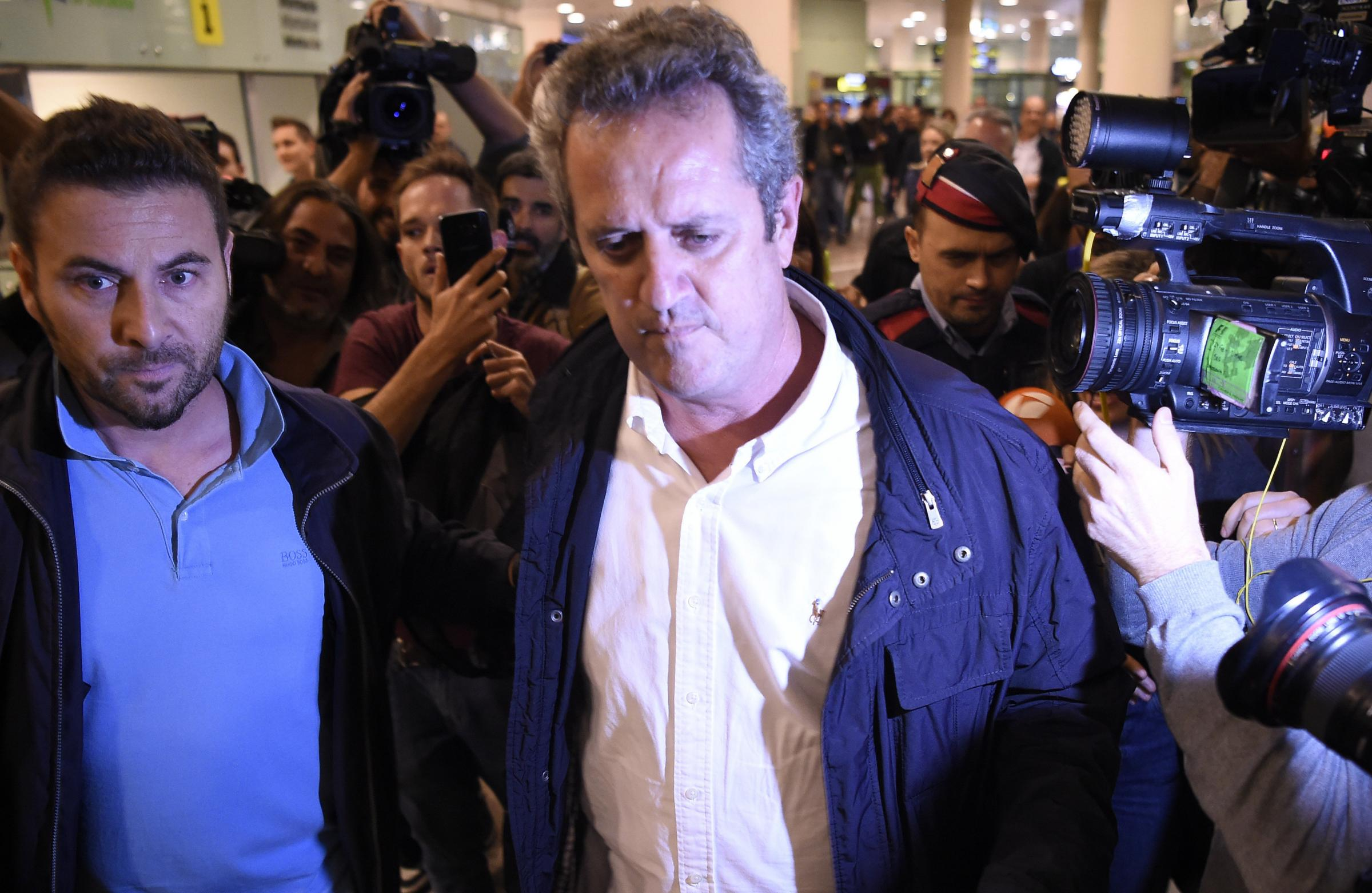 Joaquim Forn has been on hunger strike for two weeks