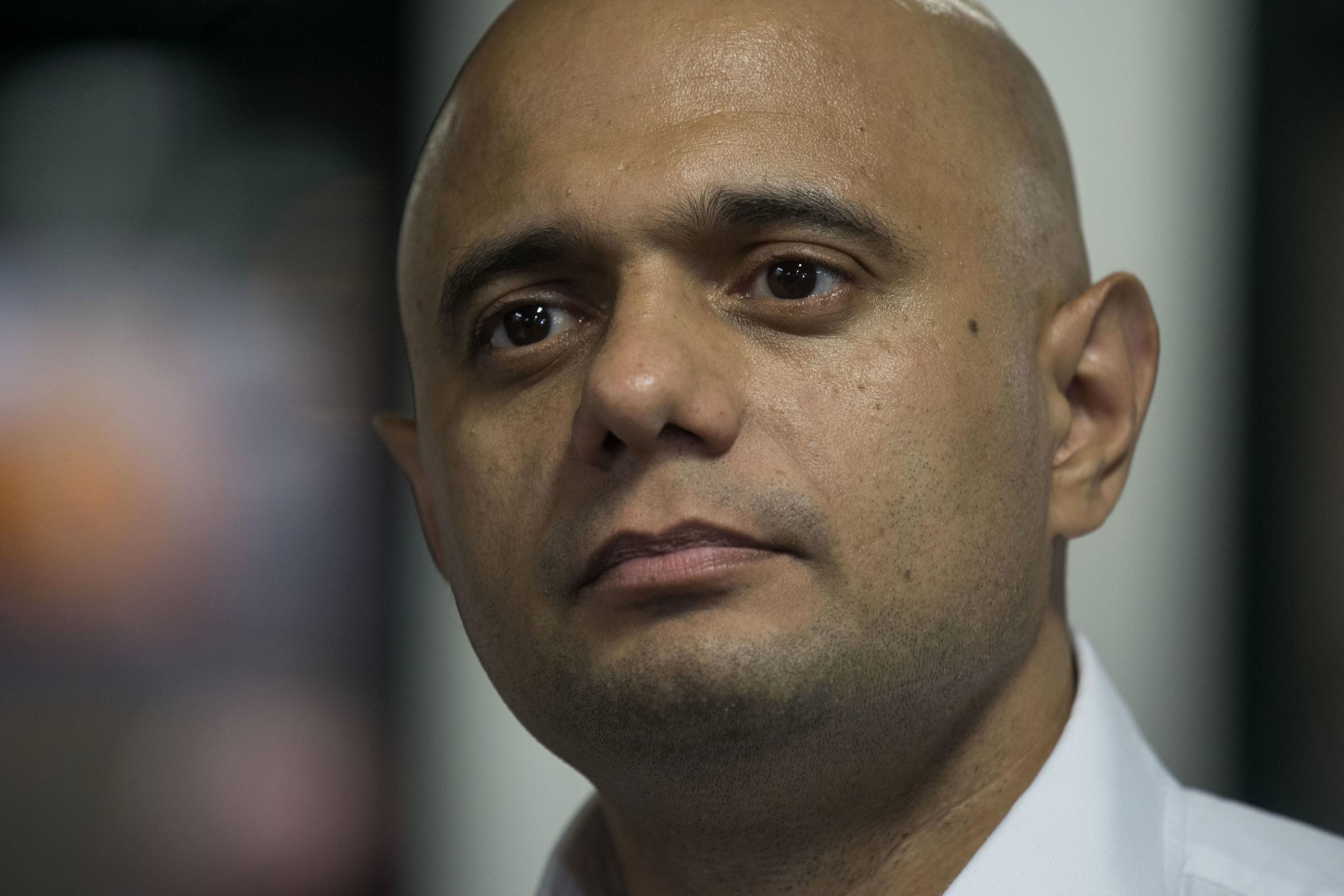 Sajid Javid has been 'very clear' supposedly