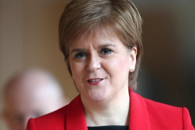 Nicola Sturgeon is attempting to knock some sense into the Unionists, because they are hell-bent on wrecking the social and economic systems