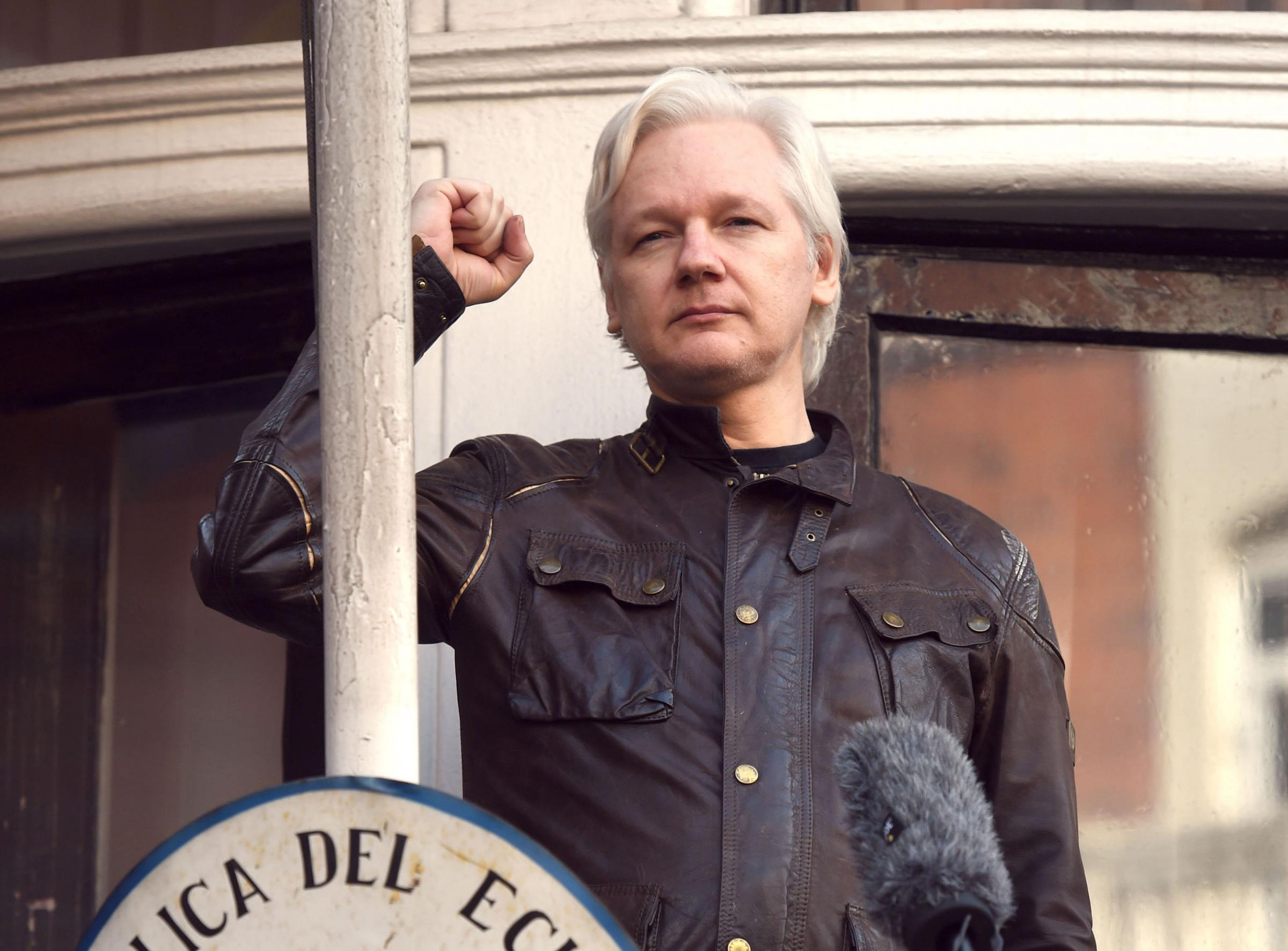 Julian Assange has been living at the Ecuadorian embassy for six years