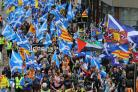 "AUOB organisers say it is ""ludicrous"" for the council to say Glasgow cannot handle a march of this size"