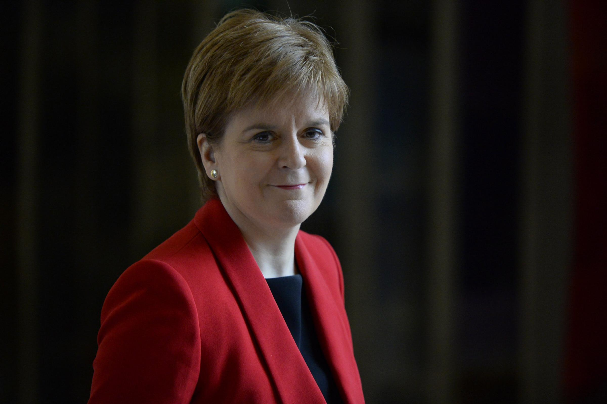 The First Minister is highlighting the plight of EU nationals who have settled in Scotland in her New Year's speech
