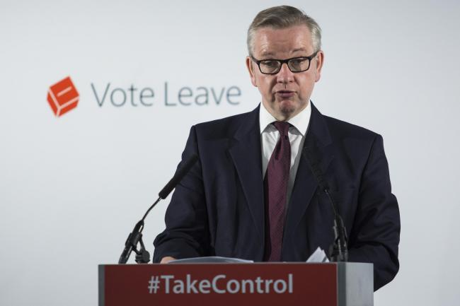 Tory Environment Secretary Michael Gove warned a no-deal Brexit could wreck the industry