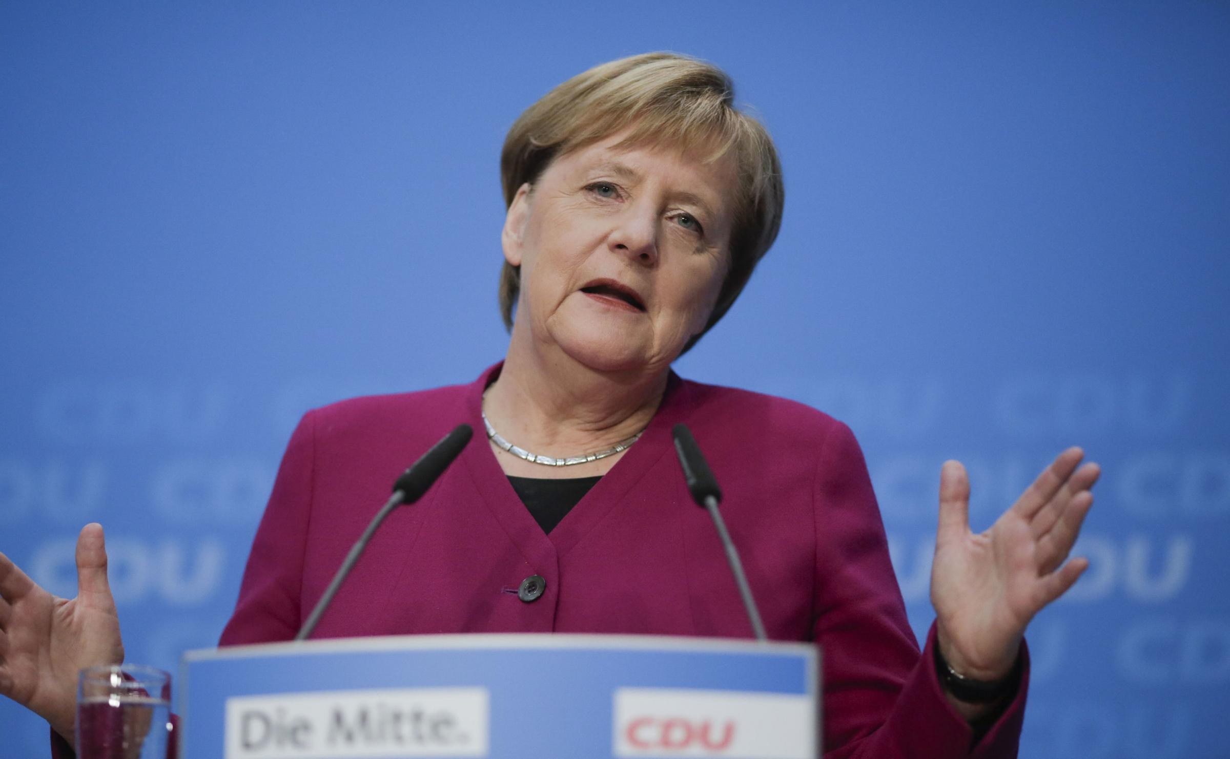 A spokeswoman for Merkel said the government was taking the matter 'very seriously'