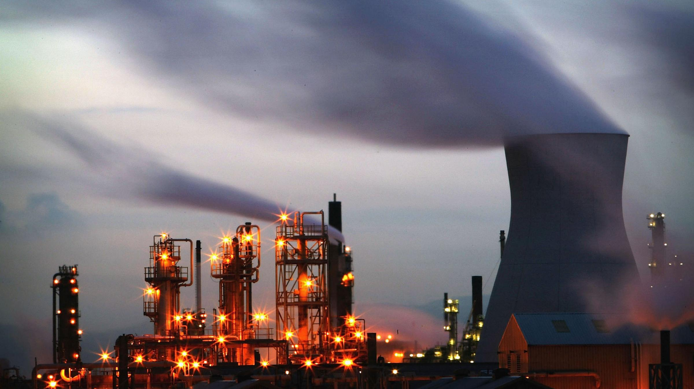 Petroineos refinery at Grangemouth topped the list of polluters