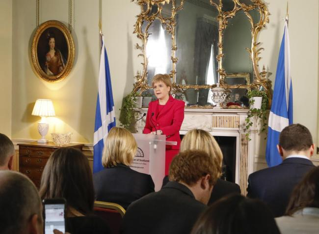 Some believe Nicola Sturgeon is not doing enough to encourage independence support
