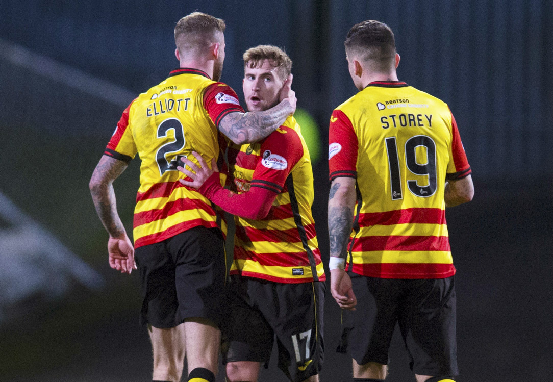 Craig Slater says that Partick Thistle's game against Falkirk this weekend is like a cup final.