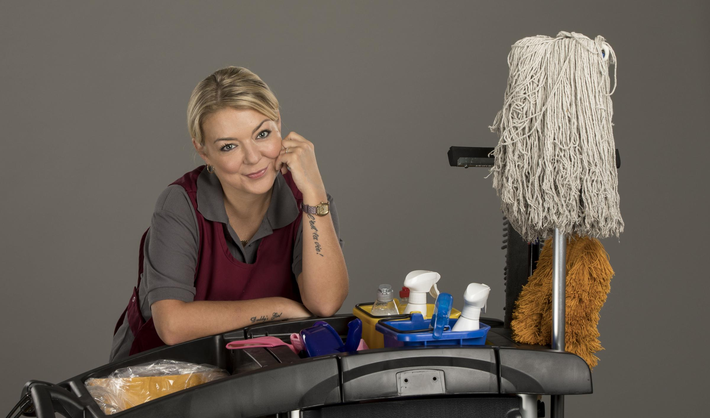 Sheridan Smith stars as Sam in Cleaning Up