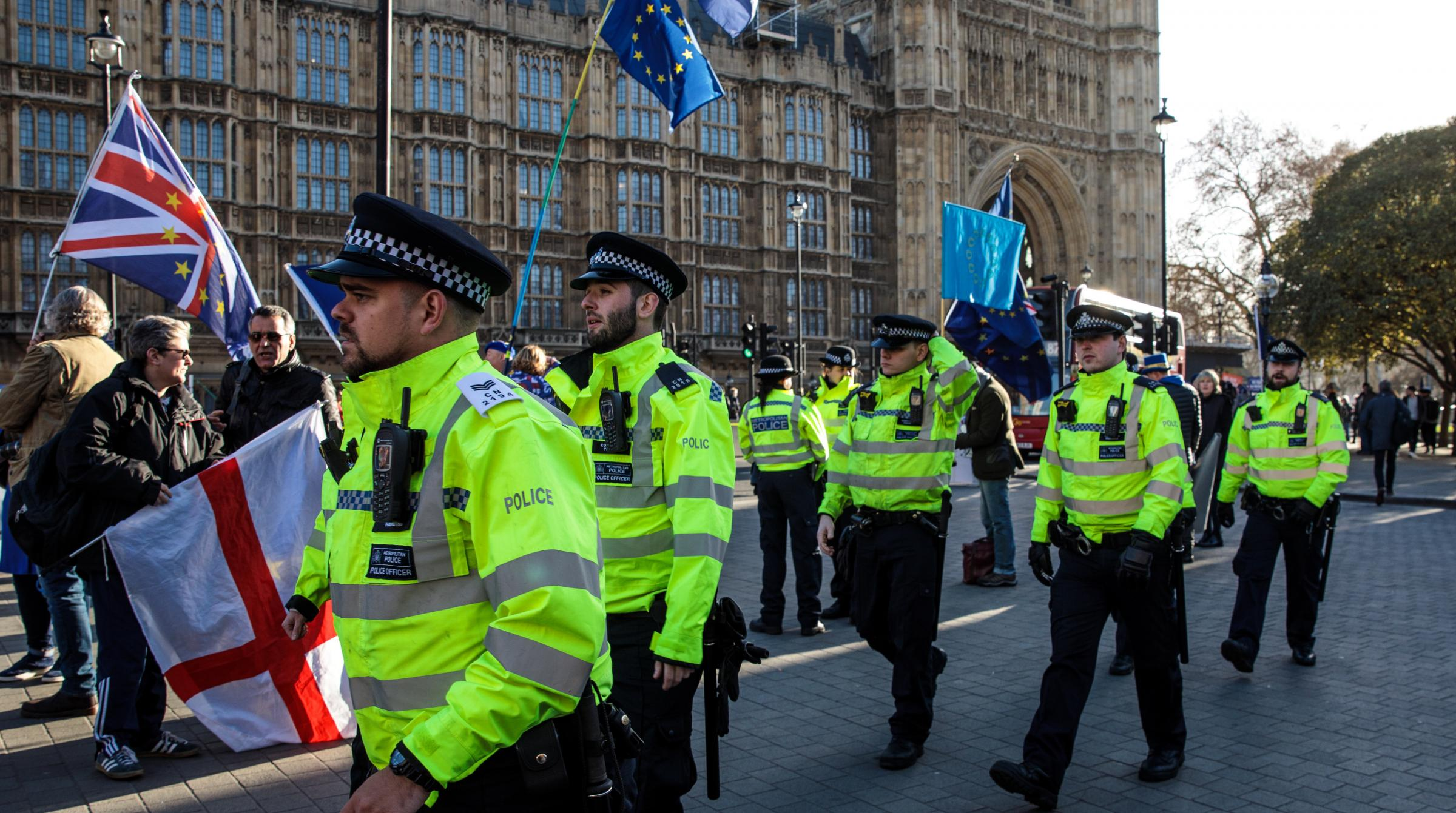 Officers are allegedly expected to intervene if protesters tried to stop MPs going about their daily routines