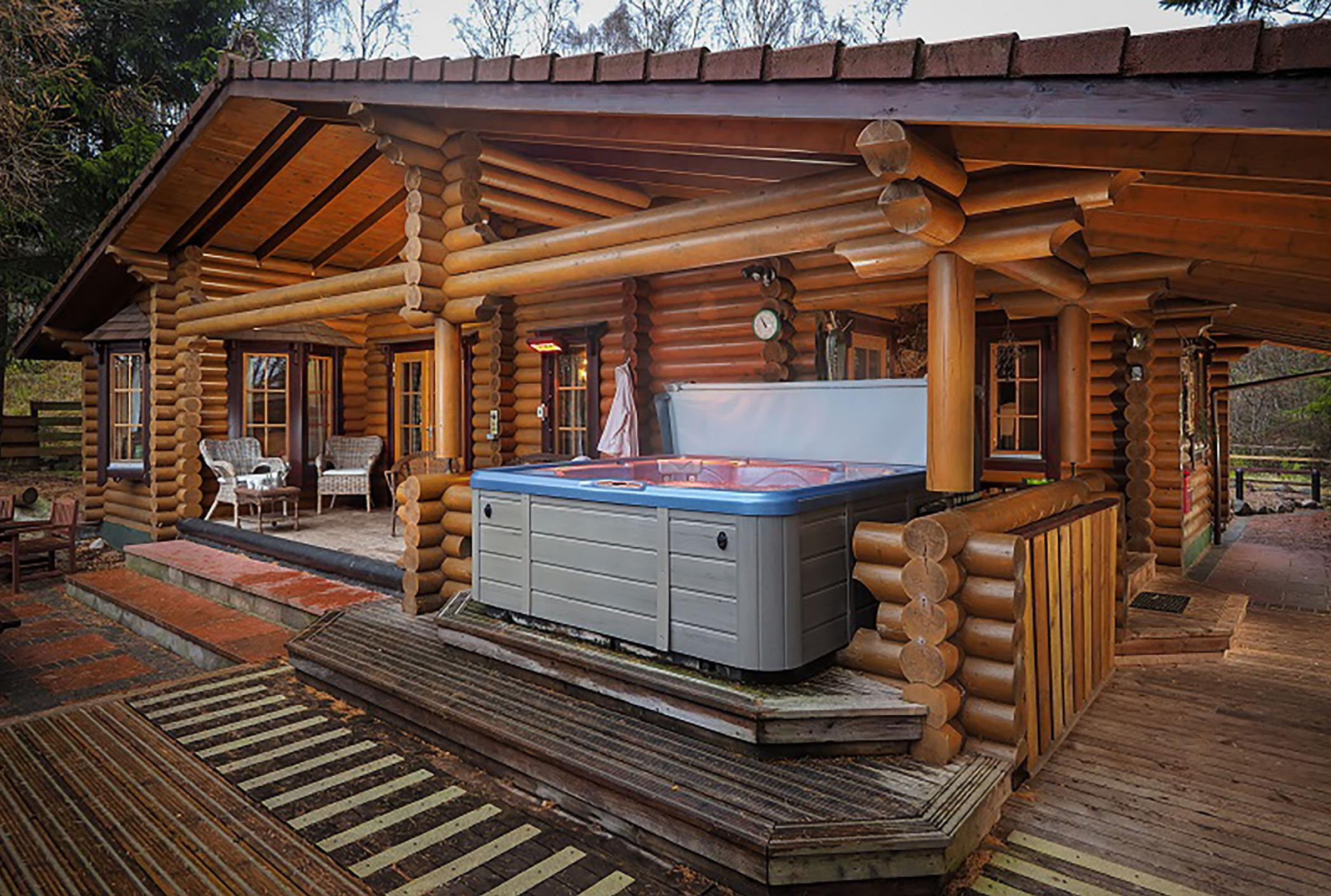 Hot tubs, such as that at Beaver Creek, have become the 'must have' facility in accommodation