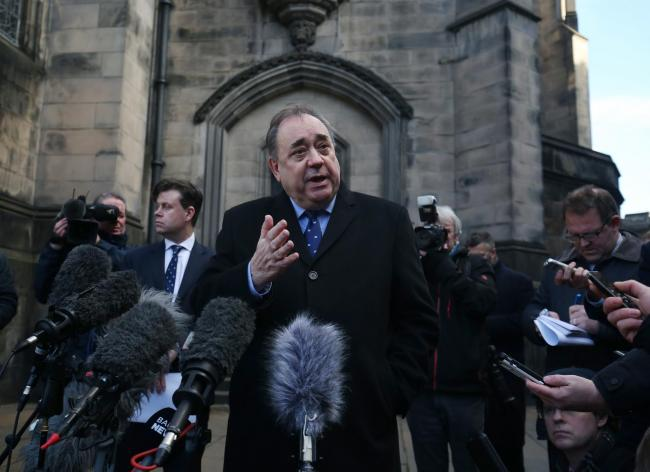 Former First Minister Alex Salmond launched legal action against the Scottish Government to contest the complaints process activated against him