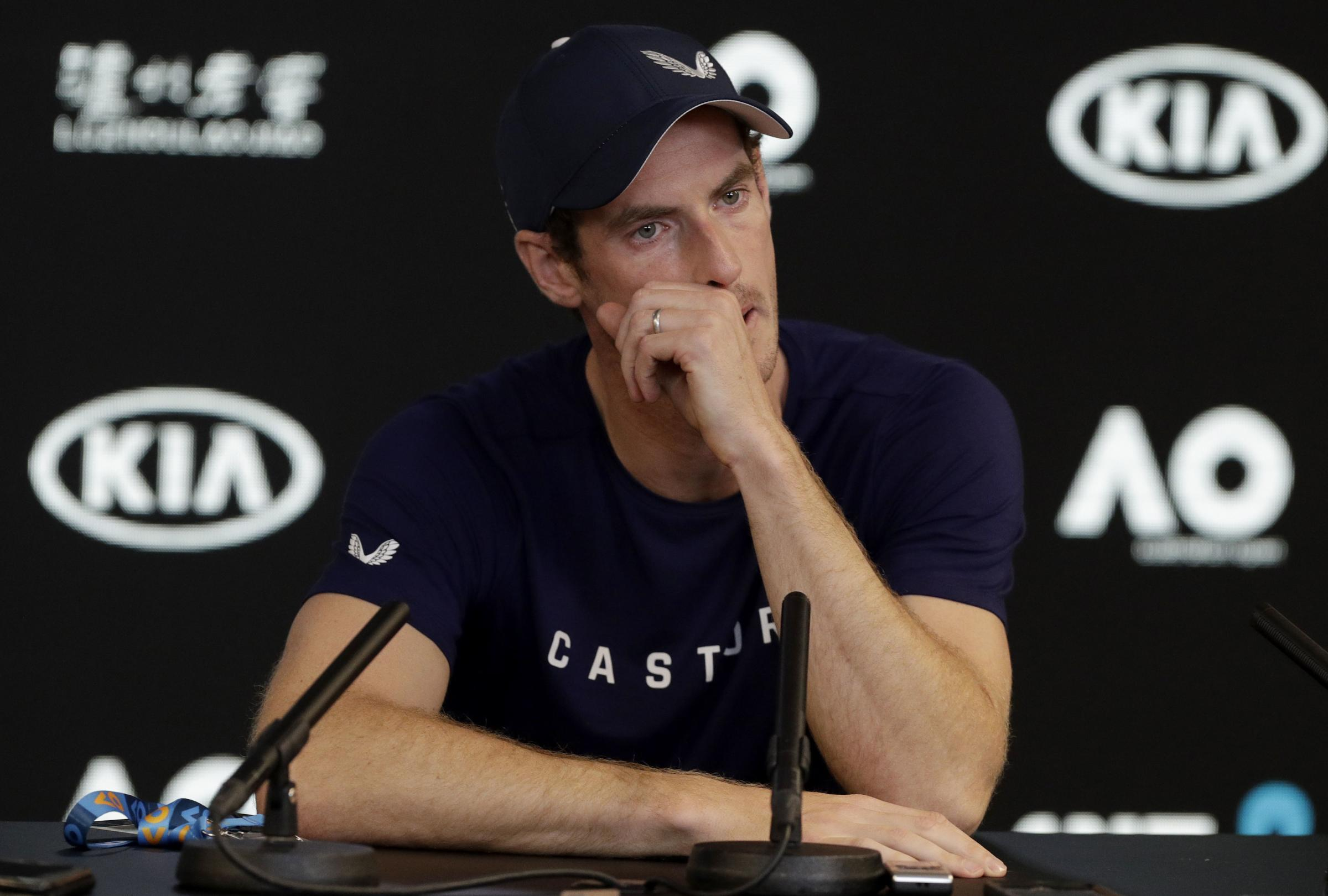 An emotional Andy Murray revealed his plans ahead of the Australian Open