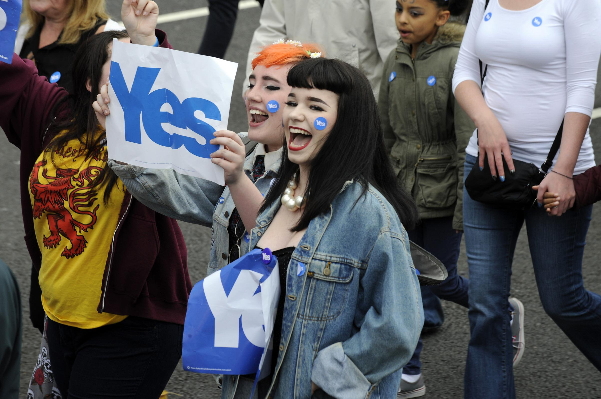 Scots of all ages should be involved