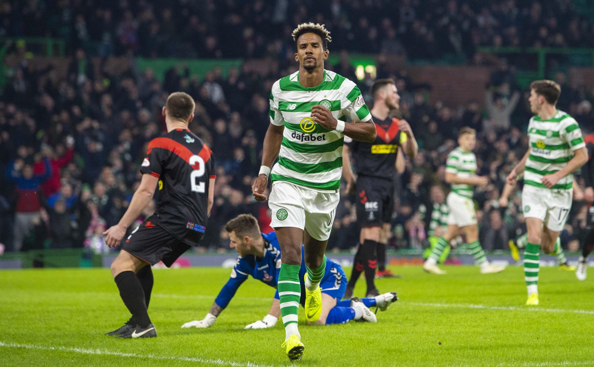 Celtic's Scott Sinclair was on the score sheet this weekend