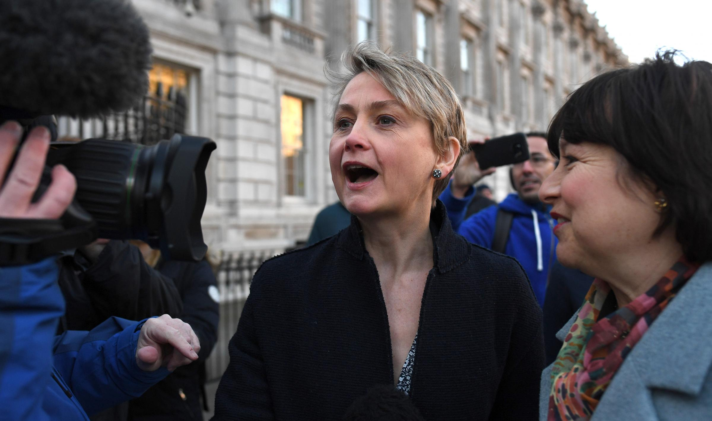 Labour's Yvette Cooper is working with Tory ex-minister Nick Boles in attempting to block a no-deal Brexit.