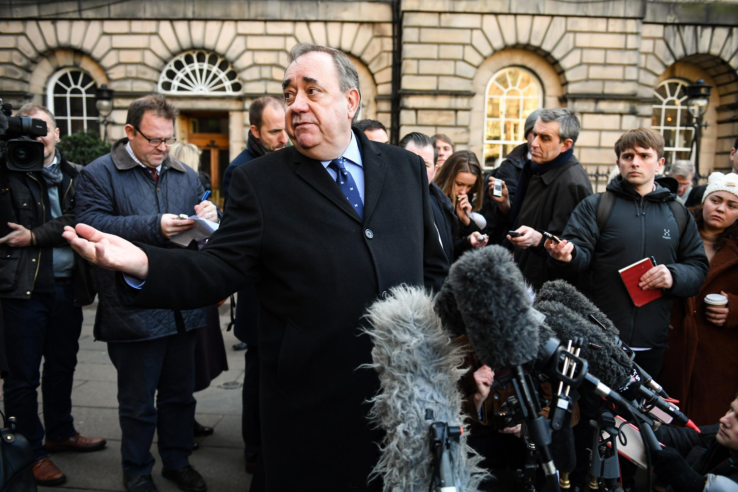 Alex Salmond urged Nicola Sturgeon to be 'concentrating all her energies on the independence agenda'