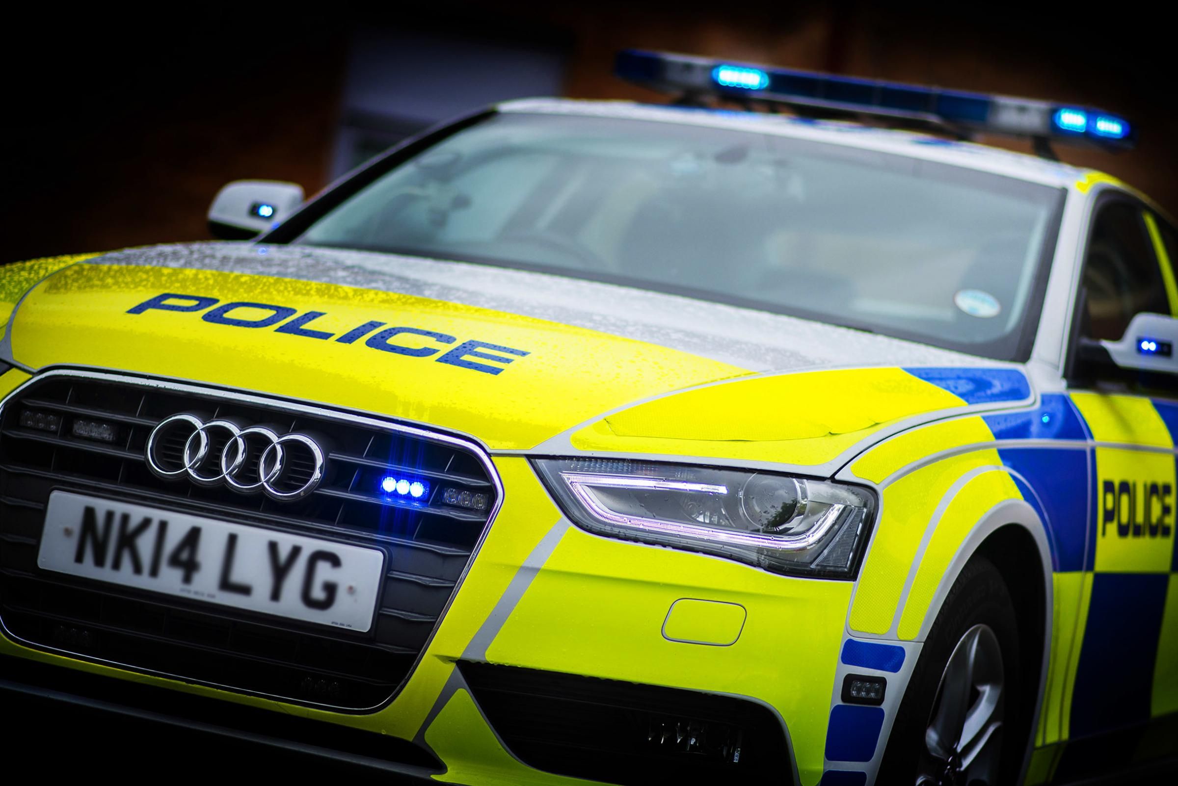 Police driver not to blame in Fife police car crash