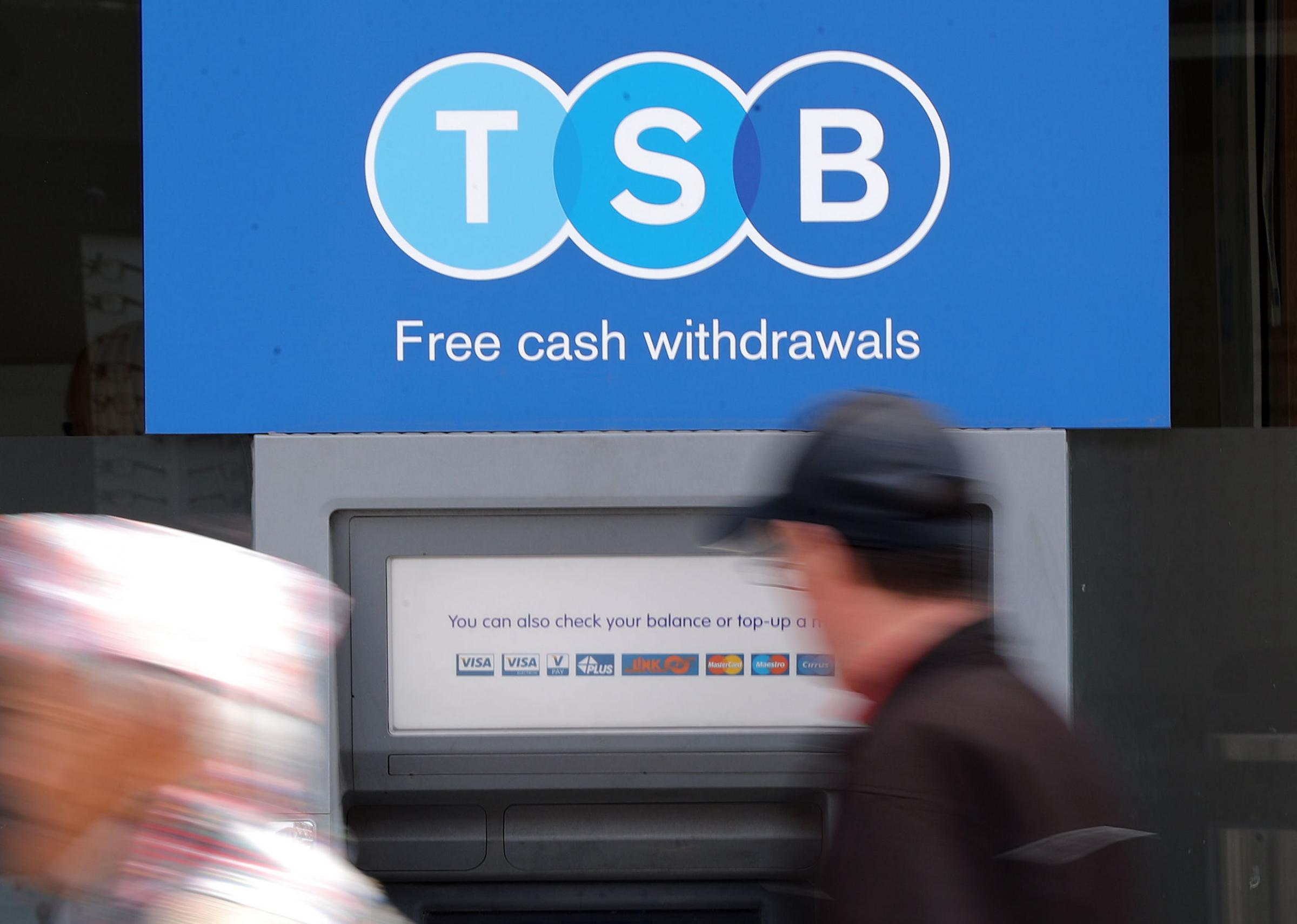 TSB posted a pre-tax loss of £105.4 million for 2018