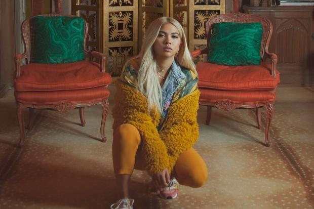 Pop star Hayley Kiyoko brought her tour to Scotland. Photograph: Amanda Charchian
