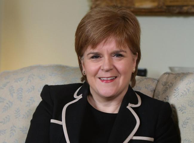 Nicola Sturgeon is on a visit to the United States and Canada