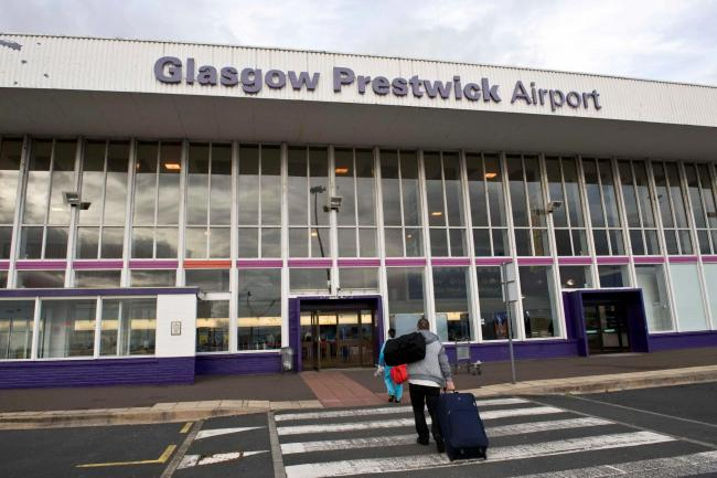 The Scottish Government have announced that Glasgow Prestwick Airport is to be sold. Photography: Christian Cooksey