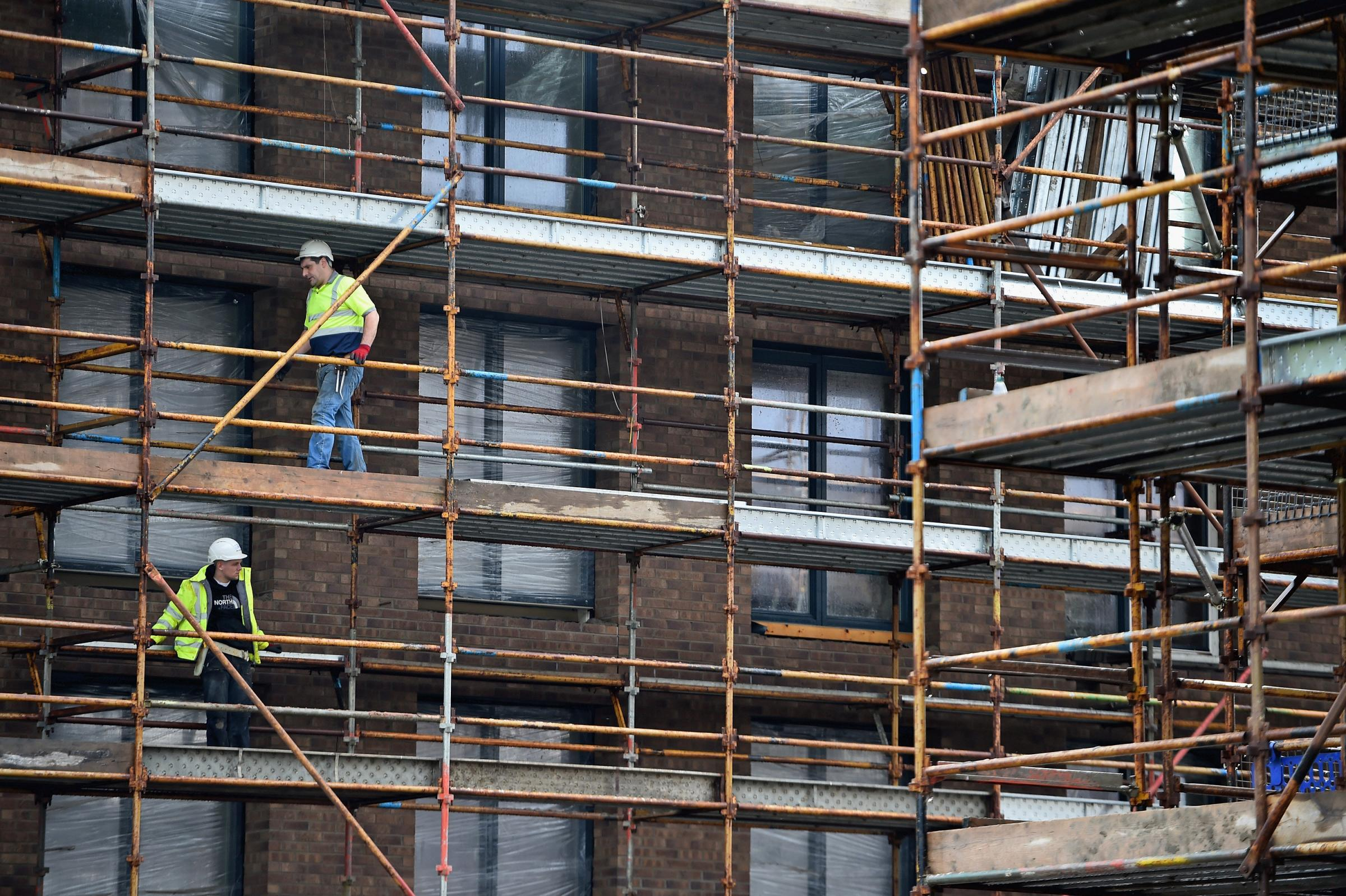 The UK's construction sector felt the impact of Brexit uncertainty