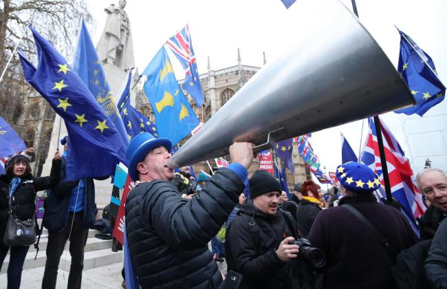 Police are contacting activists to discourage trouble after Brexit