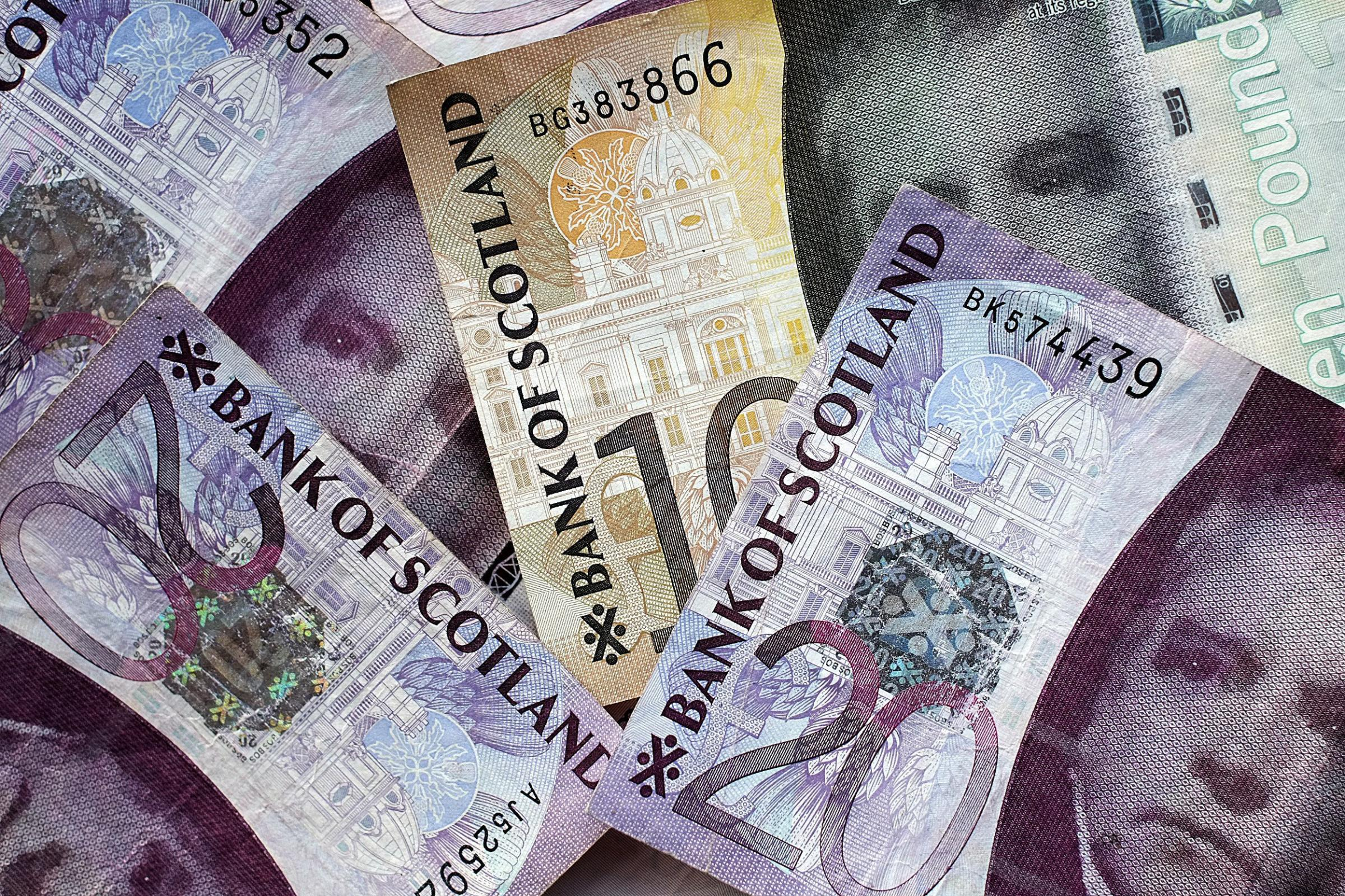 Have you had Scottish banknotes refused?